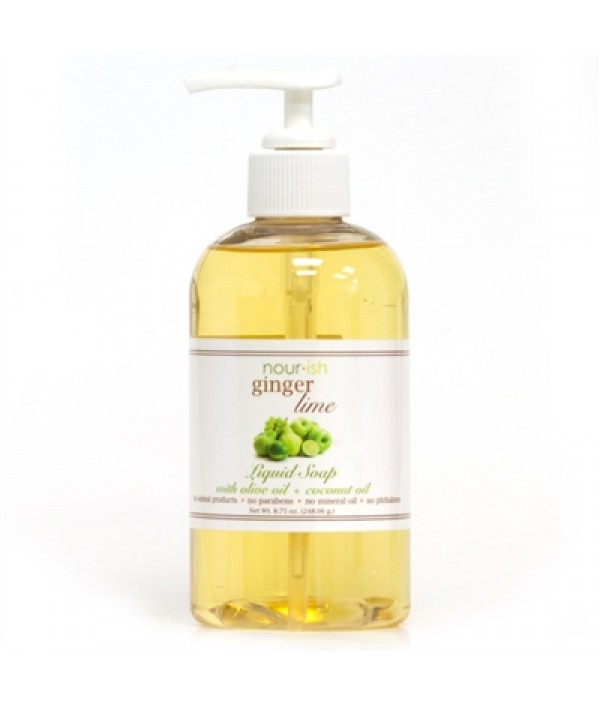 nourish ginger + lime hand soap