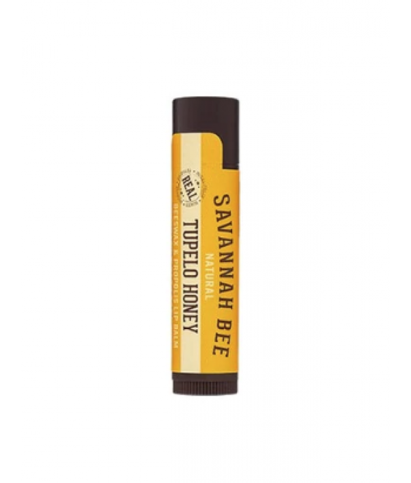 savannah bee tupelo honey lip balm stick