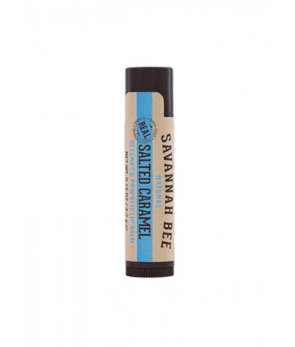 savannah bee salted carmel lip balm stic...