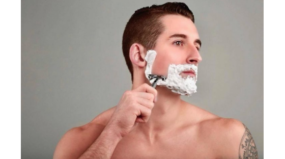 It takes a strong man to know the importance of skincare.
