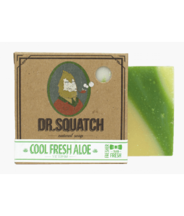 dr squatch cool fresh aloe bar soap