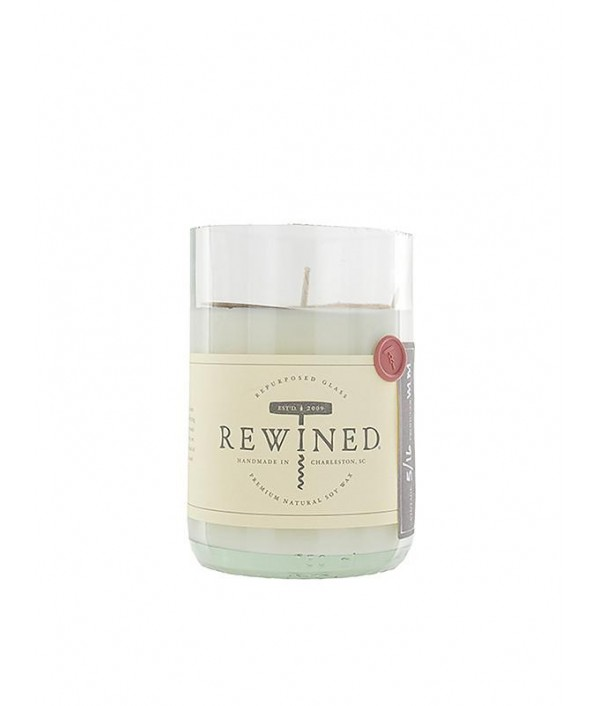 rewined zinfandel soy candle