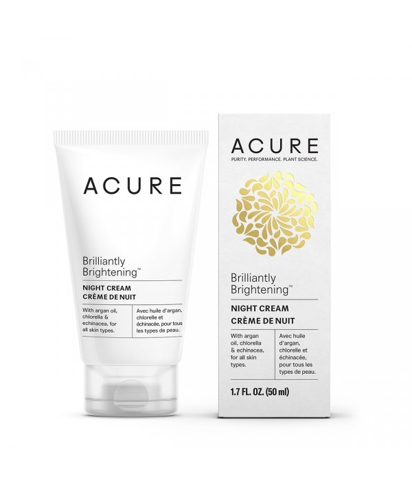 ACURE Brilliantly Brightening Night Crea...