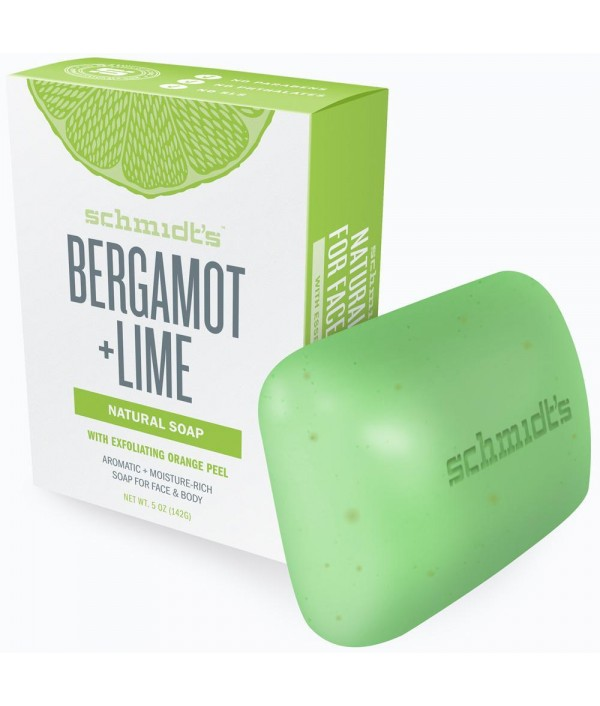Schmidt's Bergamot + Lime Bar Soap