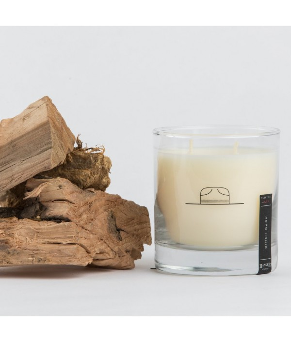 ranger station birch bark soy candle