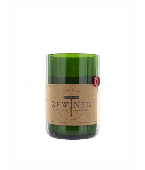 rewined cabernet soy candle