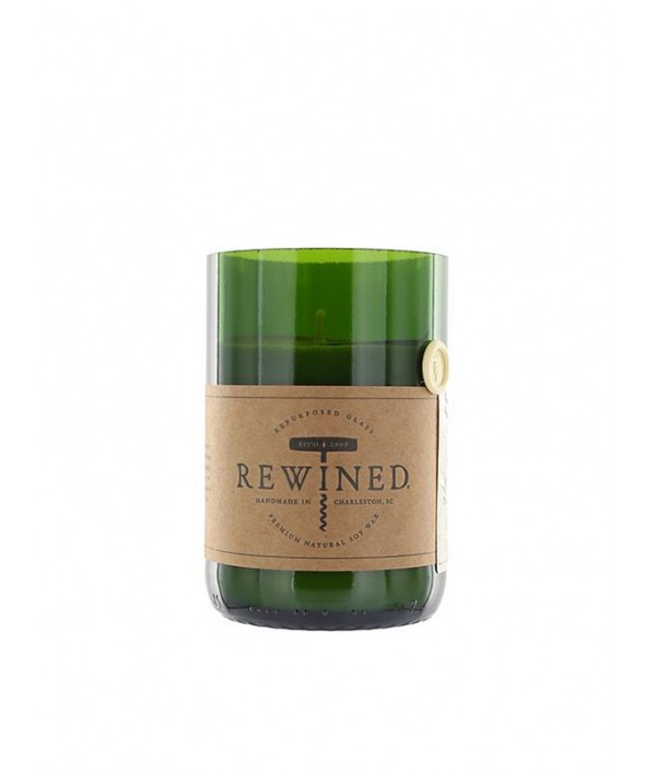 rewined champagne soy candle