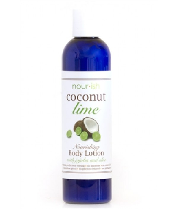 nourish coconut + lime face and body hyd...