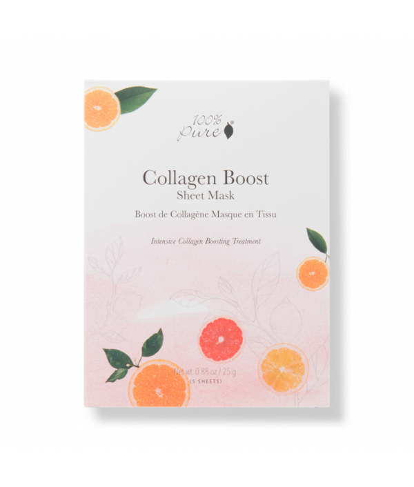 100% pure collagen boost sheet mask set ...