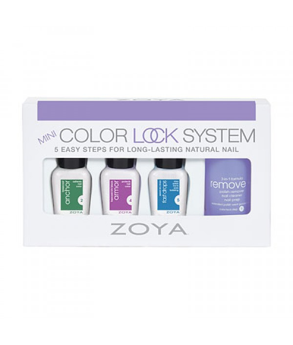 zoya nail polish mini color lock system