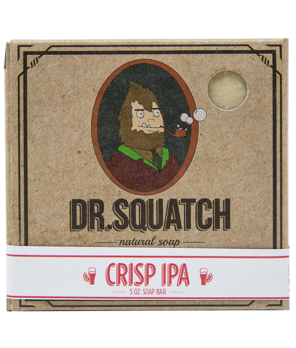 dr squatch crisp ipa bar soap