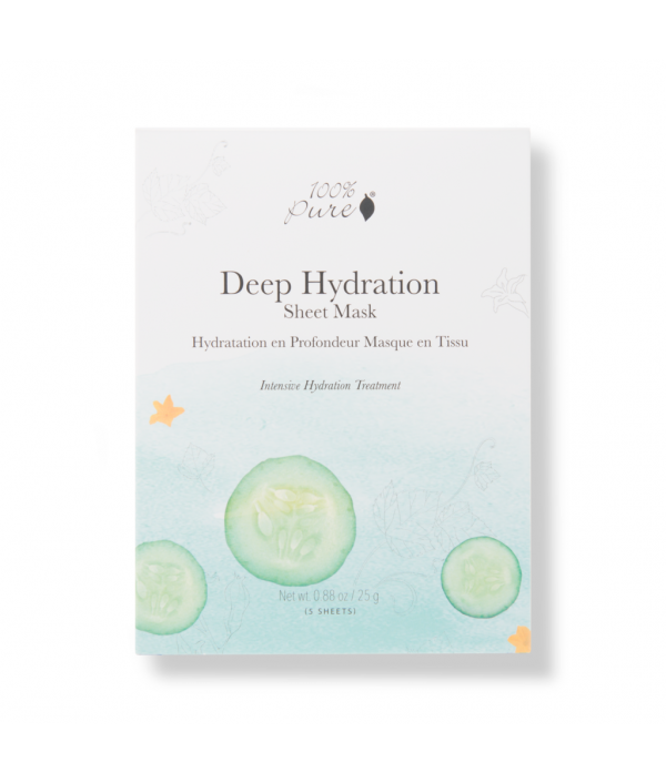 100% pure Deep Hydration sheet Mask set ...