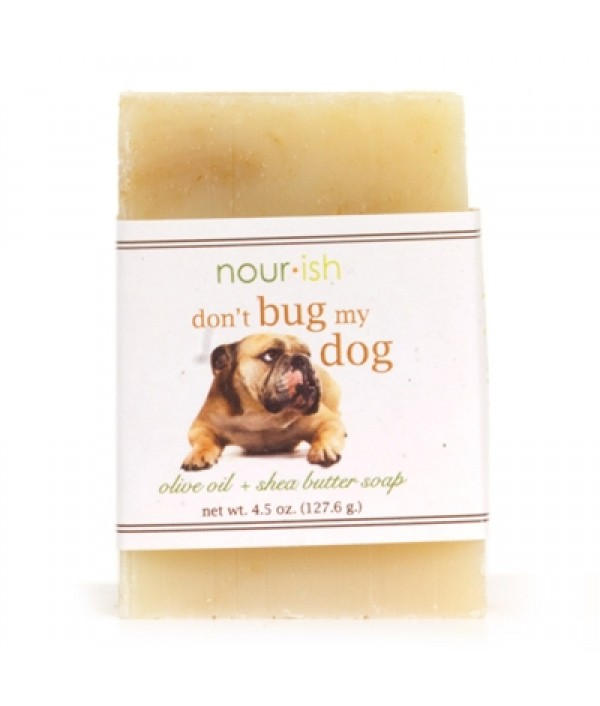 nourish don't bug my dog bar soap