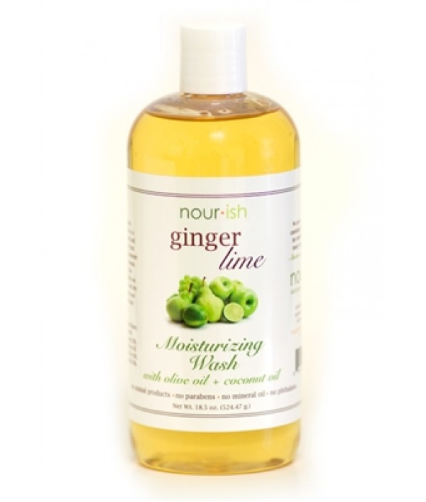 nourish ginger + lime moisturizing wash