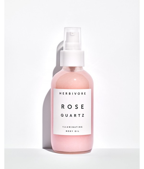 Herbivore rose quartz illuminating body ...