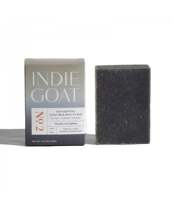 No.2 Detoxifying Goat Milk Beauty Bar