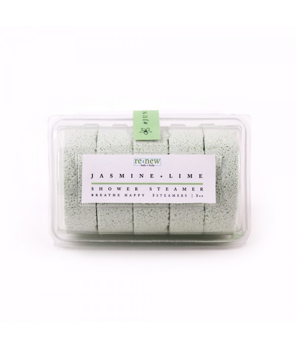 jasmine + lime shower steamer 5 pack