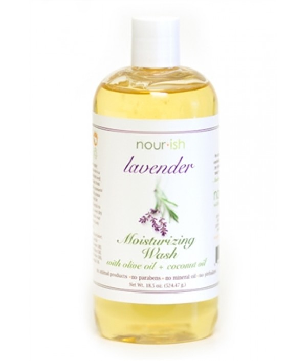 nourish lavender moisturizing wash