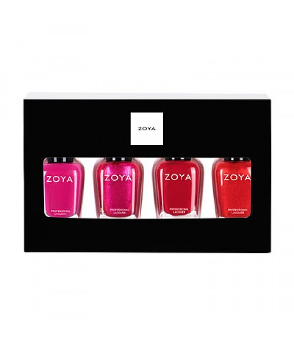 zoya nail polish merry bright quad gift ...