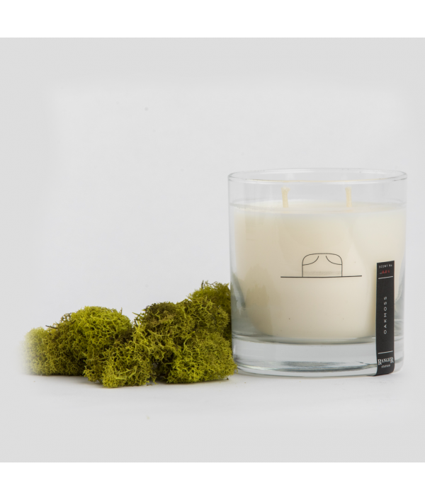 ranger station oakmoss soy candle