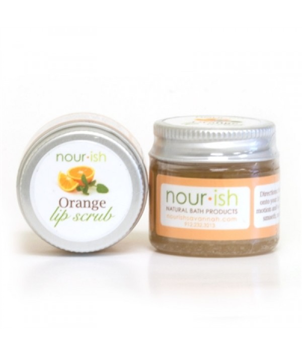 nourish orange lip scrub