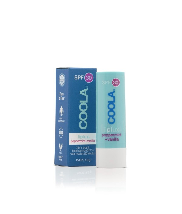 coola sunscreen liplux lip balm spf30 pe...