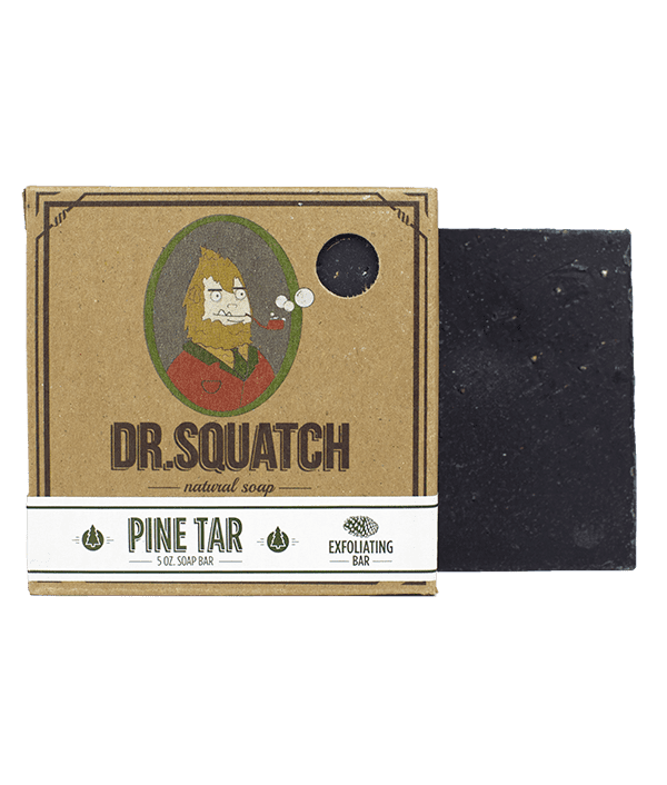 Dr. Squatch Pine Tar Bar Soap