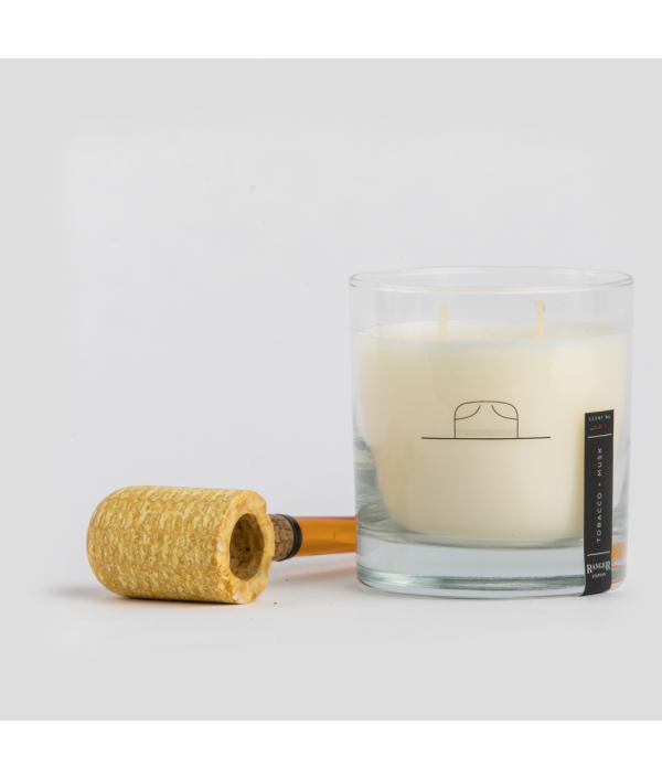 ranger station tobacco + musk soy candle