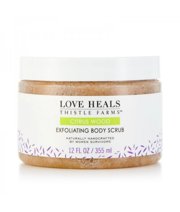 Thistle Farms Citrus Wood Body Scrub