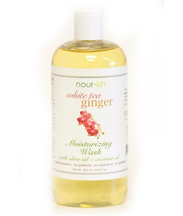 nourish white tea ginger moisturizing wa...