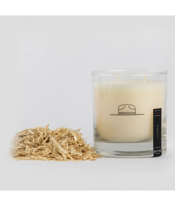 ranger station wood smoke soy candle